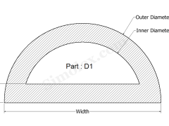 D-1 D shaped extruded silicone rubber.png