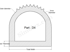 D-4 D Shaped Silicone Rubber Gasket & Seals.png