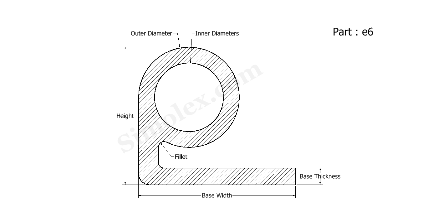 Images Door Gasket Material together with BC1012 moreover 232084150742 in addition 1 6 Inch Printable Circle Label Template Word also 316029  etic C4203 030 Gaskets Seals. on round rubber gaskets and seals
