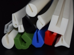 U shaped silicone rubber seals and gaskets