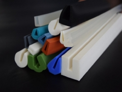 U shaped gaskets and seals silicone extrusion