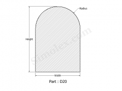 D-20 D shaped Silicone Rubber Seals & Gaskets.png