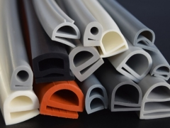 E shaped rubber seals and gaskets