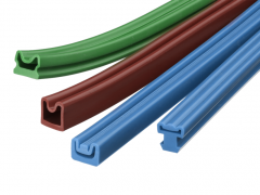 Inflatable seals extruded rubber seals